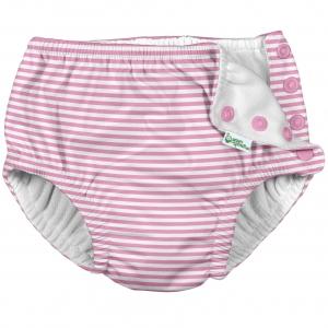 Zwemluier - Roze Krijtstreep