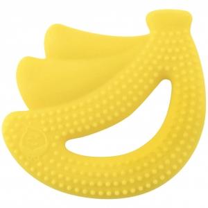 Silicone Fruit Teether - Yellow Banana