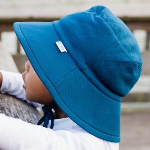 Breathable Swim & Sun Bucket Hat - Navy